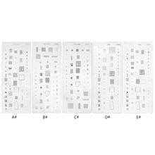 Solder-Template Bga-Reballing-Stencil-Kit iPhone for XS XS/XR 1PC Ic-Chip