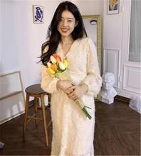Женское осеннее платье в Корейском стиле шикарное милое плиссированное