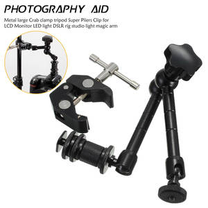 Centechia Pro 11inch Adjustable Friction Articulating Magic Arm/Super Clamp For DSLR
