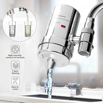 Faucet Water Purifier Tap Water Filter Kitchen Faucet Washable Charcoal Percolator Faucet Filter Purifier Water Tap Purifier xiaomi mijia faucet water purifier filter kitchen tap filter water purifier with 4pcs free activated carbon