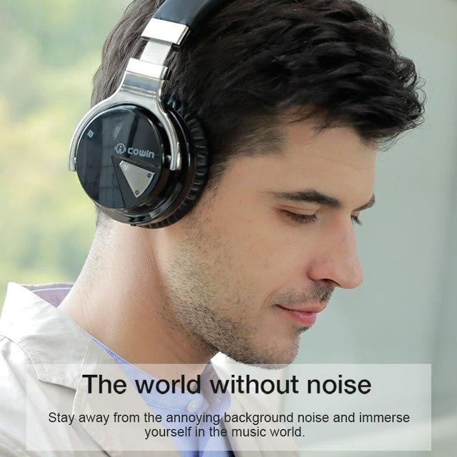 Cowin E-7 Bluetooth Headphones anc active noise cancelling 6