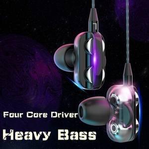 Wired Earphone Music-Headset Stereo Xiaomi Huawei High-Bass Samsung In-Ear Sport
