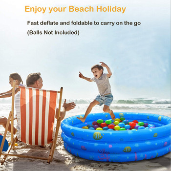 Kiddie Pool Inflatable Swimming Pool for Kids, Baby, Toddler Summer Blow Up Pool  Swimming Pool Kids Inflatable Pool