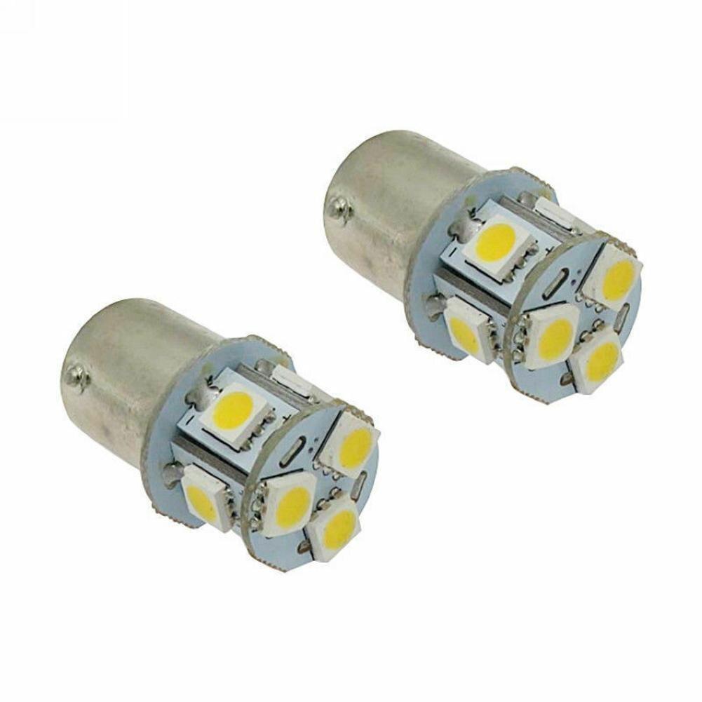 1 шт. BA15S R5W 1156 5050 8SMD светодиодный Автомобильный светодиодный поворотные парковочные тормоза Задние огни лампы для передних автомобильных си...