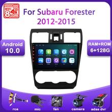 Auto Radio Für Subaru Forester XV WRX 2012 2013 2014 2015 Multimedia Player 2 Din Navigation GPS Android 10,0 4G WIFI Stereo DVD