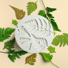 Bakeware Mold Cupcake Chocolate-Baking-Tool Fondant Leaf Silicone Kitchen Fern DIY