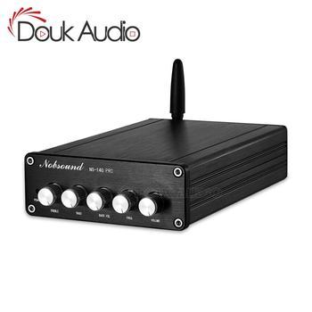 Douk audio Mini 2.1 Channel Bluetooth 5.0 TPA3116 Digital Power Amplifier Class D Stereo Audio Amp 200W