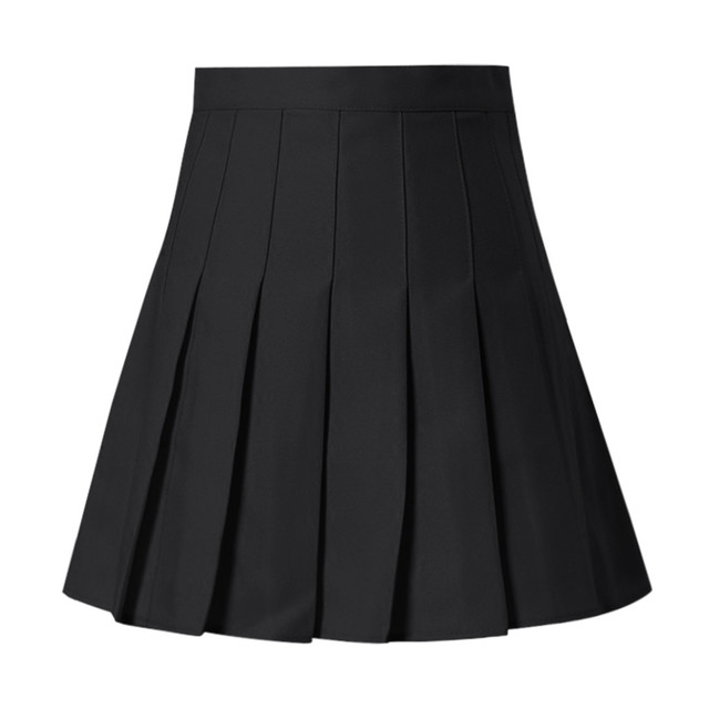 Women Skirts High Waist Pleated Mini Skirt Pink Pleated Satin Skirt Women's Fashion Slim Waist Casual Tennis Skirts School 1