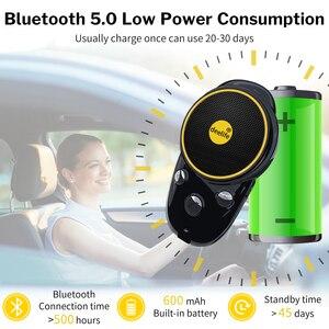 Image 3 - Deelife Handsfree Bluetooth Car Kit Sun Visor Speaker Auto Wireless Speakerphone Carkit for Phone Hands Free