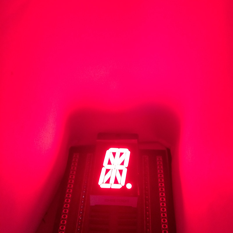 10pcs LED Display <font><b>16</b></font> <font><b>Segment</b></font> Affichage RED LED Display 0.8