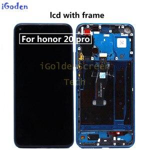 Image 4 - Original Display für Huawei Ehre 20 YAL L21 LCD Touch Screen Digitizer Ersetzen Für Huawei Ehre 20 Pro YAL AL10 YAL L41 LCD