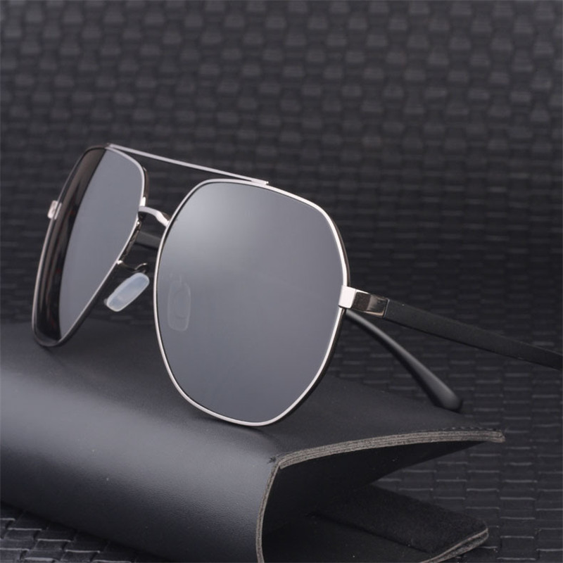 Vazrobe 160mm surdimensionné lunettes de soleil hommes conduite lunettes de soleil pour homme énorme grand miroir Ultra léger HD revêtement Film UV400