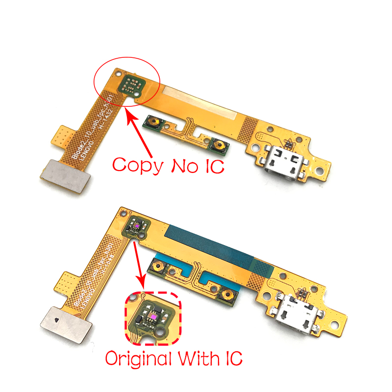 Dock Connector Charger Board Flex For Lenovo Yoga Tablet 2 1050 1050F USB Charging Port Flex Cable Repair Parts