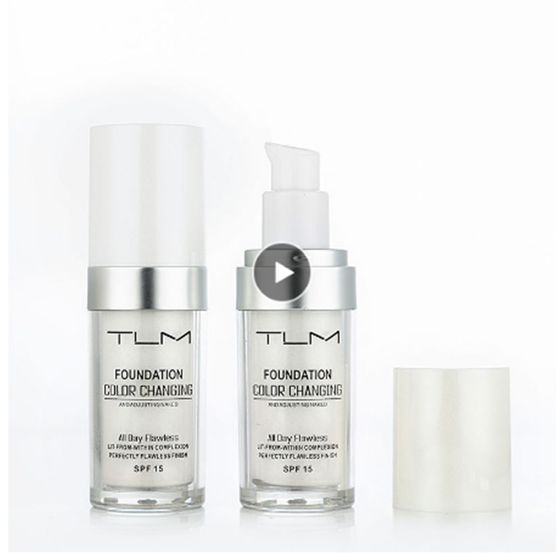 TLM 30ML Magic Color Changing Liquid Foundation Makeup Base Nude Face Cover Concealer Long Lasting Makeup Skin Tone Foundation(China)