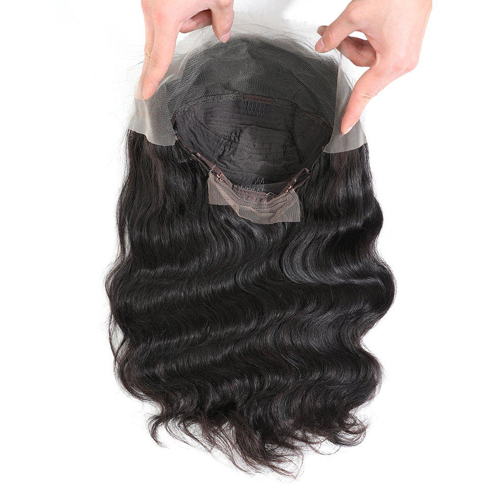Body Wave Lace Front Wig Natural Hairline Body Wave  Wigs13*4   Pre-plucked Lace Front  Wigs 5