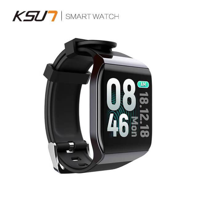 Ksun Kss901 Pulsera Inteligente con Monitor de Ritmo Cardíaco Ecg Presión Arterial Ip68 Rastreador de Fitness Wrisatband Reloj Inteligente