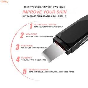 Image 3 - USB Âm Thanh Sâu Mặt Máy Làm Sạch Mụn Đầu Đen Tẩy Siêu Âm Mặt Bụi Thìa Đũa Nếp Nhăn Và Các Vết Nám Trắng Da Mặt