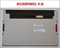 19 cal LED wyświetlacz ciekłokrystaliczny M190PW01 V8/M190PW01 V.8 w Ekrany od Elektronika użytkowa na