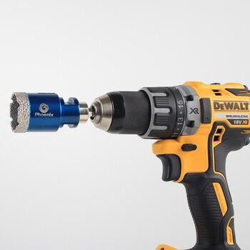 цена на Raizi 2pcs Core Bits Adapter Male Thread To 3/8 Hexagon Shank For Diamond Core Bits Fitted On Hand Drill Electric Drill