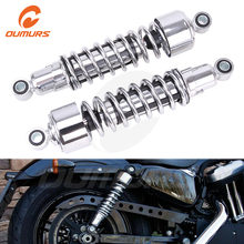 OUMURS Motorcycle Rear Suspension Shocks 11.75″ For Harley Sportster XL 1979-2012 FXR 1982-94 Motorbike Spare Parts Accessories