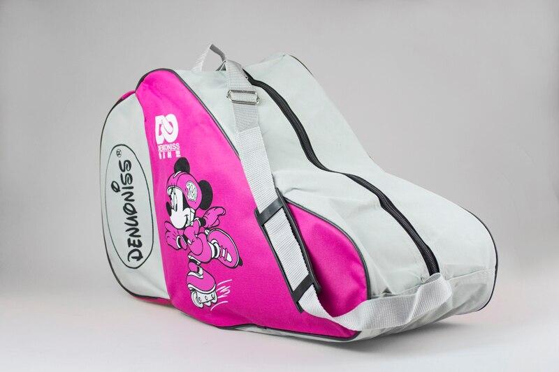 NEW Cute Cartoon Roller Skate Bag Portable Oxford Carry Bag Shoulder Bag Big Capacity Gift For Kids Adult 55x22x33cm
