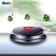 Adesivo de perfume do refrogerador de ar do carro da liga de alumínio st para ford focus mk2 st vignale/st-linha linha f150 st