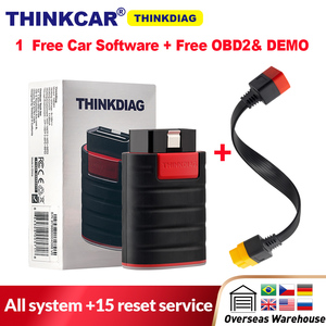New Arrival Thinkdiag same as easydiag full system OBD2 Diagnostic Tool think easy diag OBDII Code Reader 15 reset services(China)