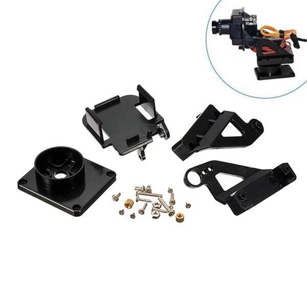 FPV PTZ Pan/Tilt Camera Platform Bracket Camera FPV Anti-Vibration Support 9g 12g Servo With SG90 Servo For RC FPV Drone