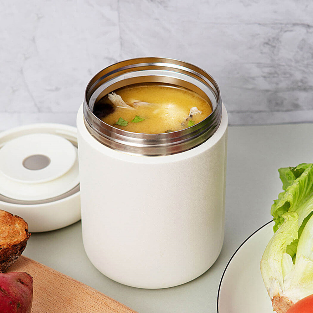 Original 550ml Vacuum Insulated Cooking Thermos Braised Beaker Stainless Steel Portable Lightweight Food Thermos From Youpin|Personal Care Appliance Parts| |  - title=