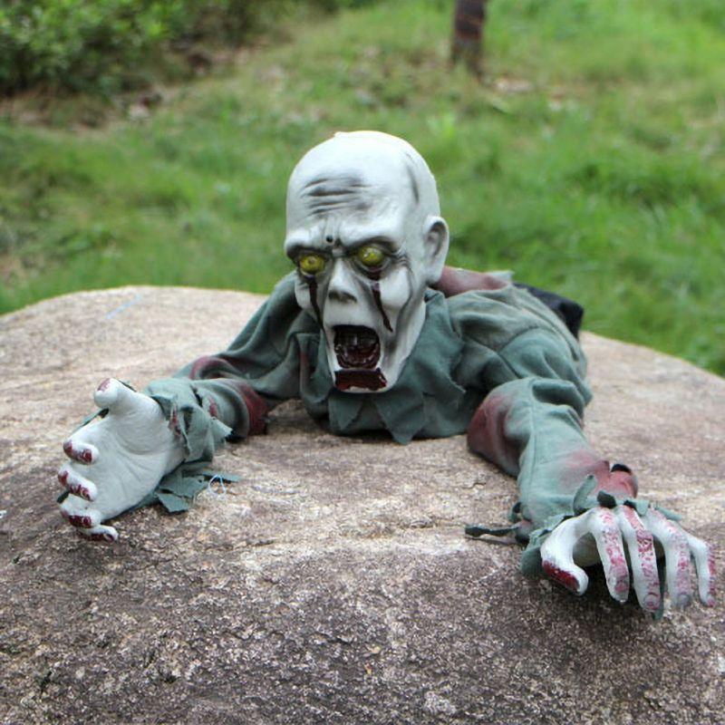 Decorações de halloween brinquedos indução elétrica rastejando fantasma bar casa assombrada adereços