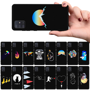 For Samsung Galaxy A51 A71 case Soft TPU Phone Case cover For Samsung Galaxy S20 Plus Ultra M11 M30S M21 M31 M30 M10 M10S covers