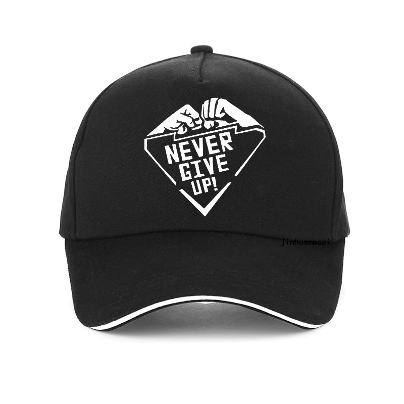 Never Give Up Liverpool Print Baseball Cap Men Mo Salah You'll Never Walk Alone Hip Hop Cap Fist Printing Harajuku Snapback Hat