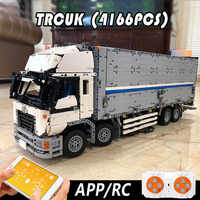 23008 Technic Car Toys The MOC-1389 Wing Body Truck Compatible With Lepining Building Blocks Brick Car Model Kids Christmas Gift
