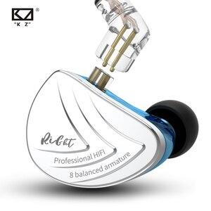 Image 4 - KZ auriculares AS16 de 16BA con armadura equilibrada audífonos HIFI con Monitor de graves, cancelación de ruido para teléfono móvil