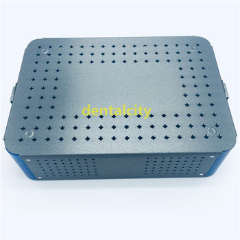 Aluminium Alloy sterilization tray box case extra big surgical instrument surgical ophthalmic instruments