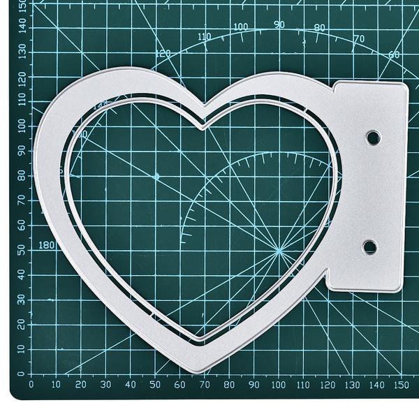 Eastshape Album Heart Dies Love Note Metal Cutting Dies For DIY Scrapbooking Craft Card Embossing Die Cut New Template