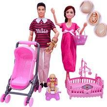 Fashionable 6 happy family 11.5