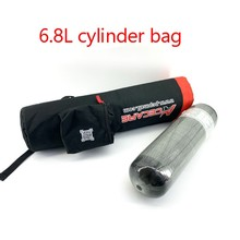 AC106004 Scuba Pcp Bag Balloon With Compressed Air Rifle 6.8L 4500Psi Carbon Fiber Tank Bag Underwater Gun Speargun Spearfishing
