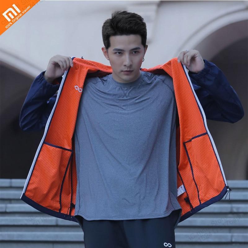 Original Xiaomi Mijia Men's Weatherproof Sports Casual Jacket Windproof And Rainproof Breathable Gate Hooded Jacket Smart Home