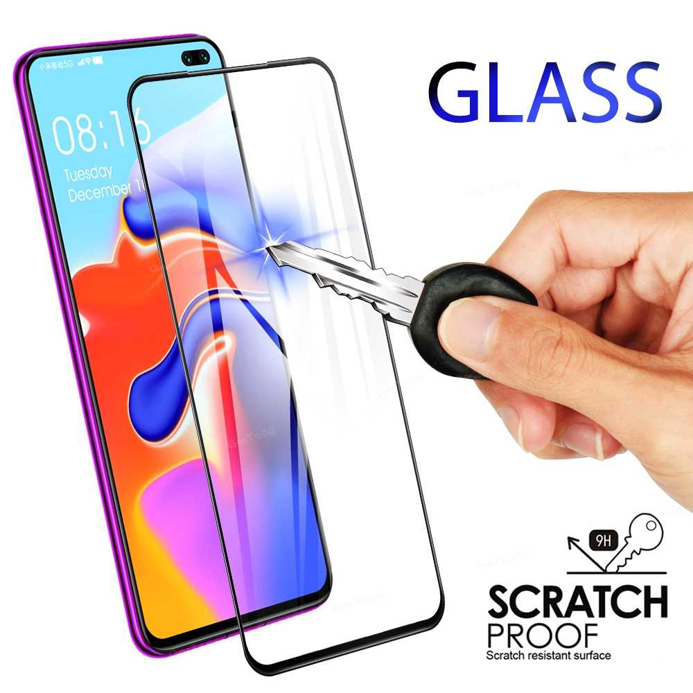 For Xiaomi Redmi K30 5G K 30 Full Cover Tempered Glass Screen Protector For Redmi K30 6.67 inch Sensative Touch High Clear Glass