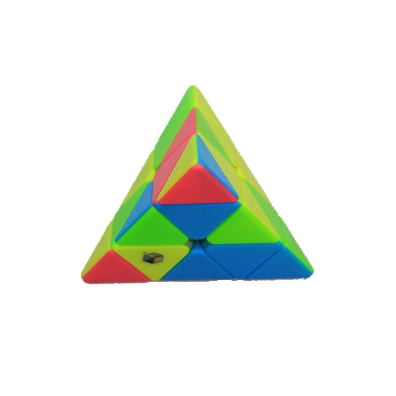 Yu xin cubo mágico pequeno pirâmide mágica
