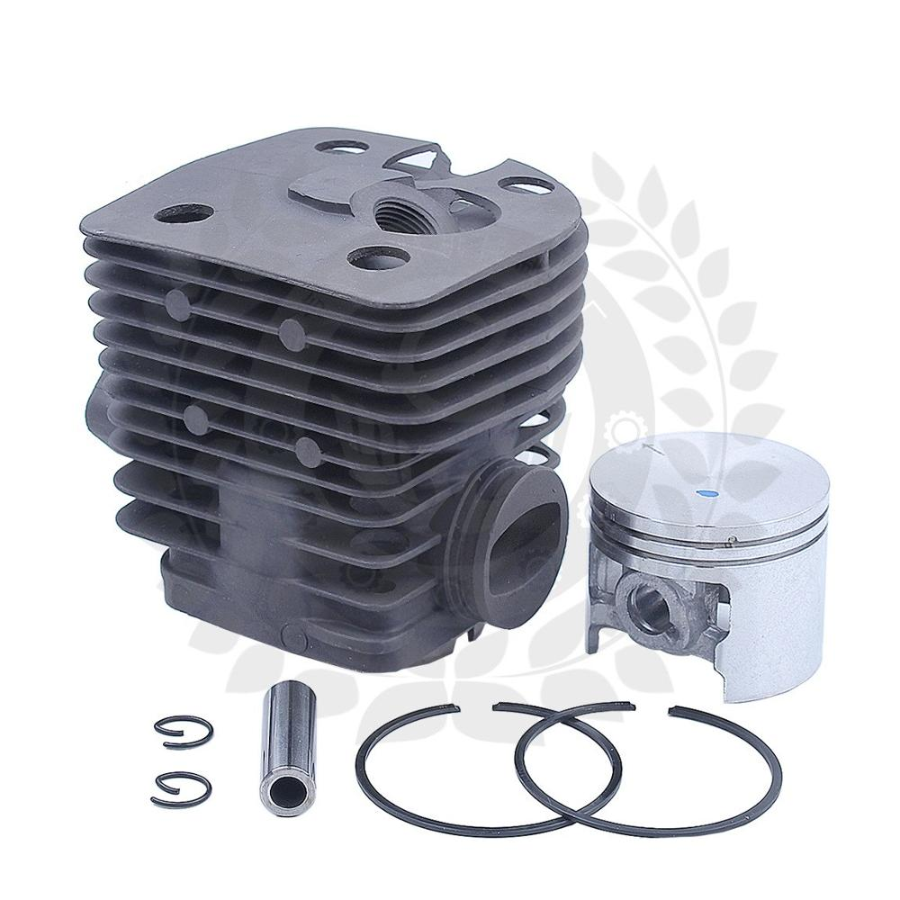 46mm Cylinder Piston Kit For Stihl FS420, FS420L, FS500, FS550, FS550L Chainsaw 41160201215, 4116 020 1215 W Pin Ring Circlips