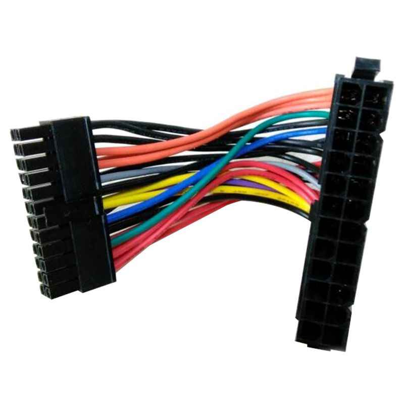 ATX PSU estándar 24Pin hembra a Mini 24P hombre interior conversor adaptador de corriente Cable para DELL 780, 980, 760, 960 PC