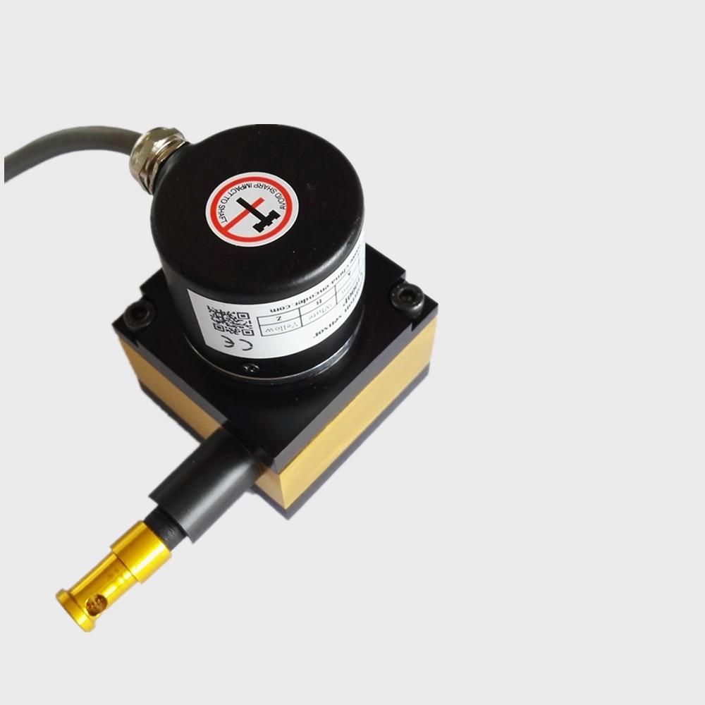 CALT сенсорный линейный датчик смещения CESI S500 500 мм диапазон 5 в поставка различных выходного сигнала инкрементный кодировщик IP54