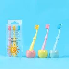 Детская Силиконовая зубная щетка с мягкой щетиной для детей