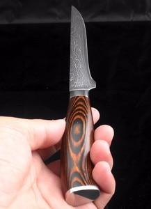 Image 5 - XITUO High quality utility knife Kitchen knife Japanese VG10 73 layer Damascus steel paring knife wood handle Boning knife Tools