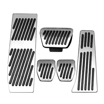 Car Accessories For BMW 3 5 series E30 E32 E34 E36 E38 E39 E46 E87 E90 E91 X5 X3 Z3 MT/AT pedal Pads Cover Stickers Car Styling image