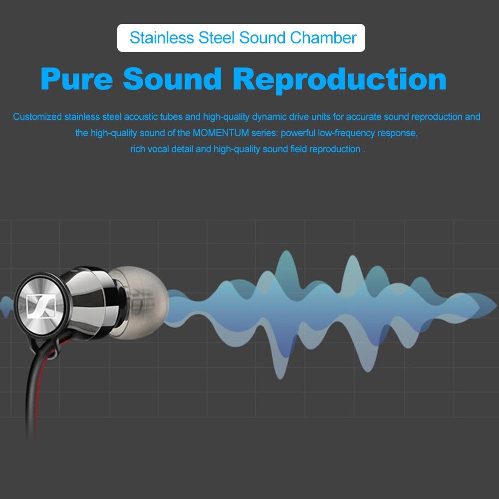 Sennheiser momentum in-ear sem fio bluetooth fone