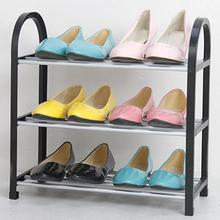 3/4/5 Layer Stainless Steel Shoe Rack Shelf Organizer Pipe Holder Convenient Practical Storage Container
