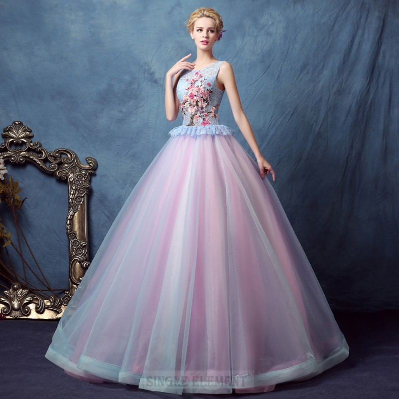 Pink Ball Gown Sweet 16 Quinceanera Dresses Prom Party Pageant Wedding Dress